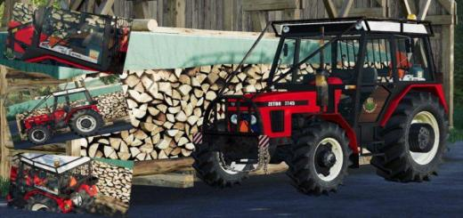 Photo of FS19 – Zetor 7745 Forest Tractor V1