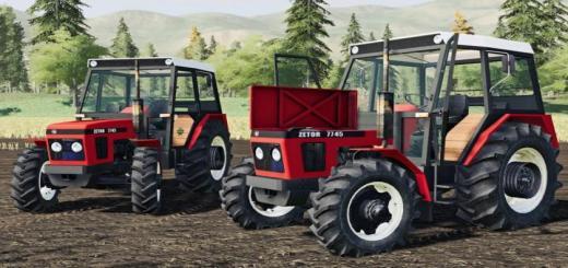 Photo of FS19 – Zetor 7745 Tractor V1