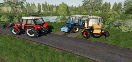 Photo of FS19 – Zetor 8145-10145 Tractor V1