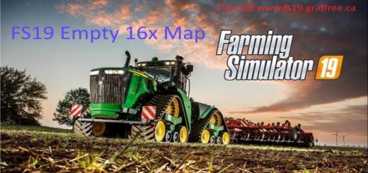 Photo of FS19 – 16X Empty Map V1
