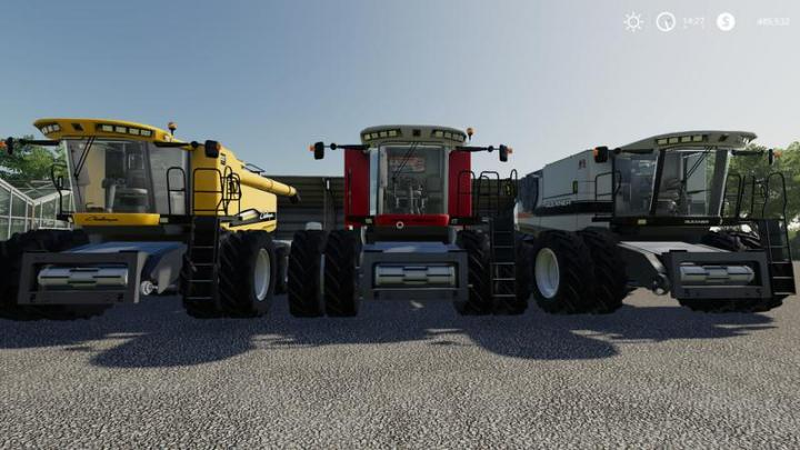 FS19 - Agco Rotary Combines Pack V1