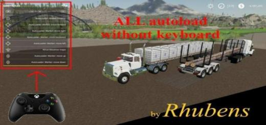 Photo of FS19 – All Autoload Fully Operational Without Keyboard V2