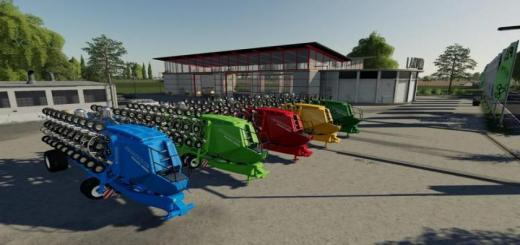 Photo of FS19 – Amazone Condor15001 Nf-Marsch Multifruit Multicolor V2.2