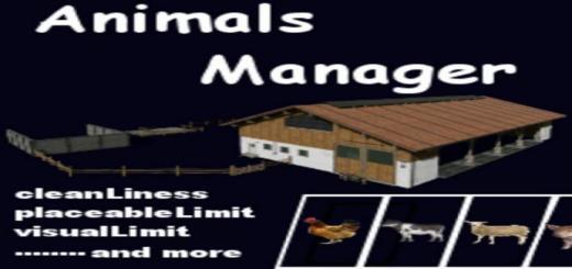 Photo of FS19 – Animalsmanager V0.5 Beta