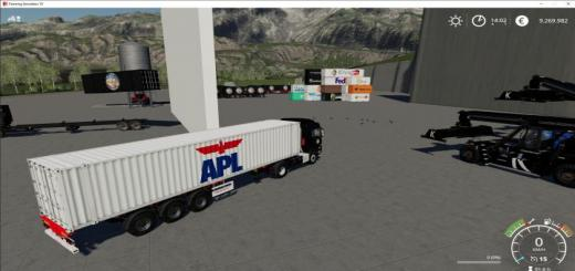 Photo of FS19 – Atc Container Pack V2