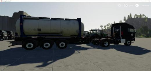 Photo of FS19 – Atc Container Transportation Pack V1.4