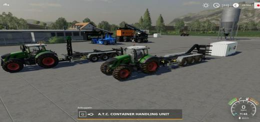 Photo of FS19 – Atc Containerhandling Pack V1.1