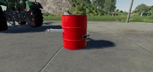 Photo of FS19 – Barrel Weight V1