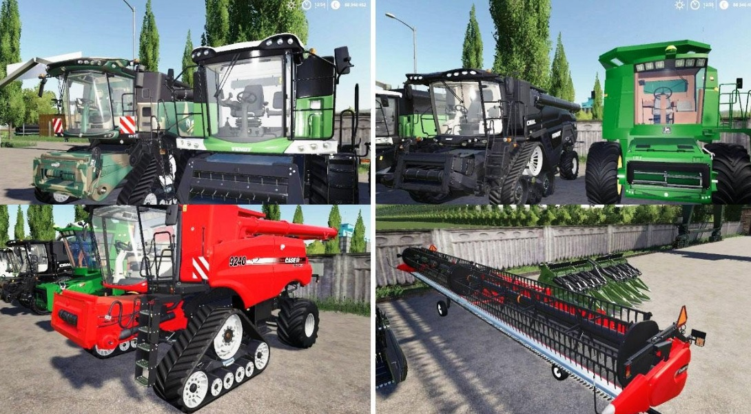 Photo of FS19 – Best Combines Pack V2