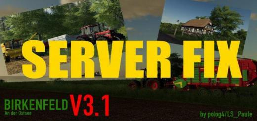 Photo of FS19 – Birkenfeld An Der Ostsee Server Fix V3.1