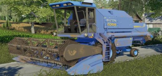 Photo of FS19 – Bizon Rekord Z058 Nh Diy V1