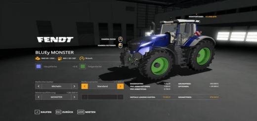 Photo of FS19 – Bluey Monster Multicolor V2.5.1.2