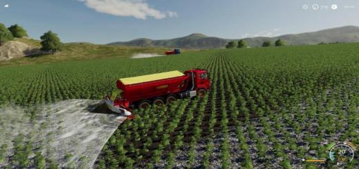 Photo of FS19 – Bredal Hooklift Fertilize Spreader V1