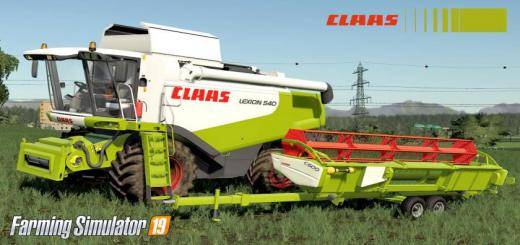 Photo of FS19 – Claas Lexion 530-540 V1
