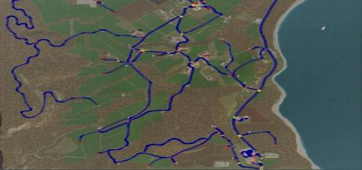 Photo of FS19 – Courseplay Kurses For Holzer Map