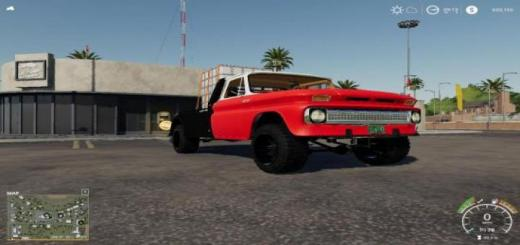 Photo of FS19 – Cowboy2300\'s K10 Flatbed V1