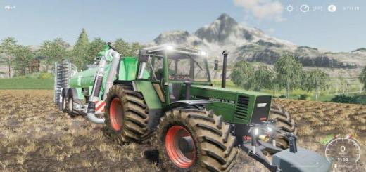 Photo of FS19 – Css Fendt 615 Converted V1.0