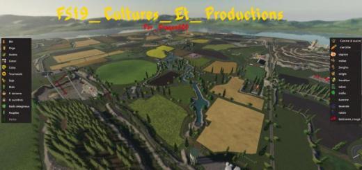 Photo of FS19 – Cultures Et Productions V1.3