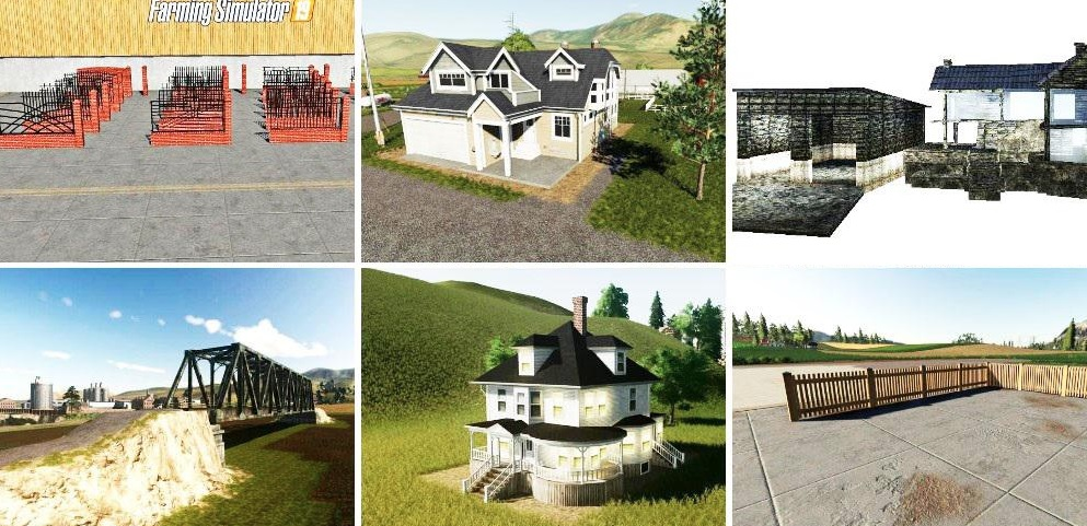 Photo of FS19 – Pack Decorative Objects V1