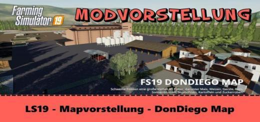 Photo of FS19 – Dondiego Map V1.3