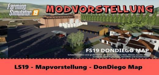 Photo of FS19 – Dondiego Map V1.5.1