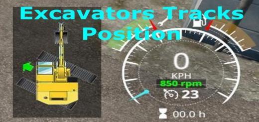 Photo of FS19 – Excavators Tracks Position V1.1