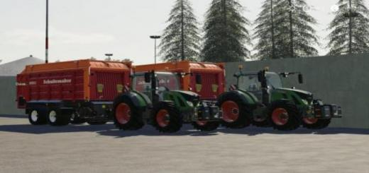 Photo of FS19 – Fendt 700 S4 Tractor