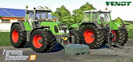 Photo of FS19 – Fendt Favorit 916-926 Serie Tms Vario V1.1