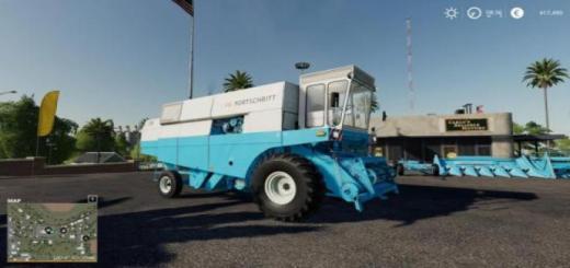 Photo of FS19 – Fortschritt E516 Harvester Pack V1.1