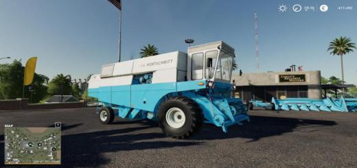 Photo of FS19 – Fortschritt E516 Harvester Pack V1