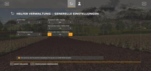 Photo of FS19 – Helperadmin V1