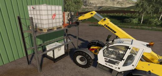 Photo of FS19 – High Level Rack V1