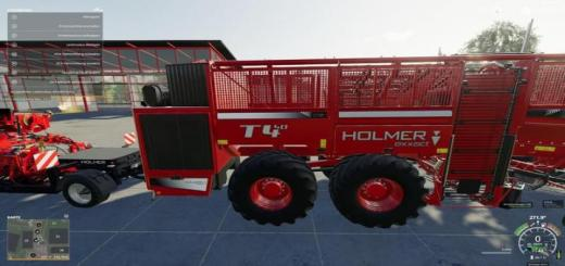 Photo of FS19 – Holmer Pack For Potatoes And Sugar Beets V1.0.0.1