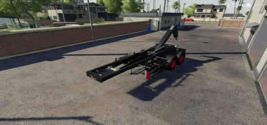 Photo of FS19 – Hooklift Semi-Trailer V1