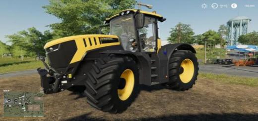 Photo of FS19 – Jcb Fastrac 8000 Customizable V1