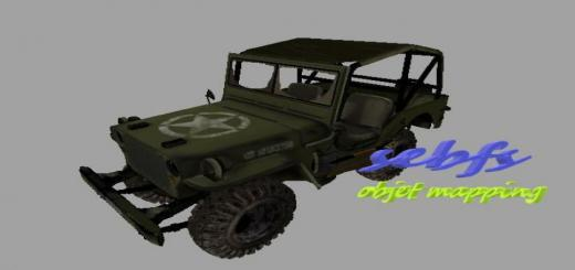 Photo of FS19 – Jeep Militaire V1