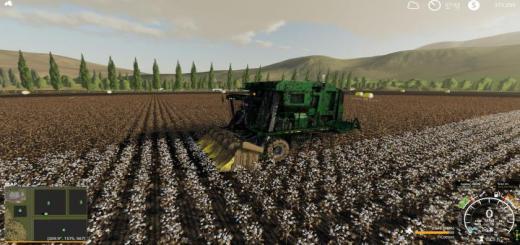 Photo of FS19 – John Deere 7760 Cotton Baler V1