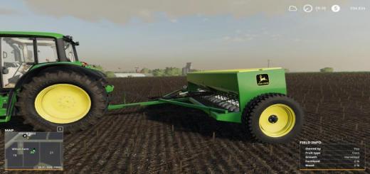 Photo of FS19 – John Deere 8350 Grain Drill V1