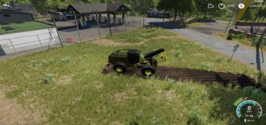 Photo of FS19 – John Deere Construction Yellow Skidder V1