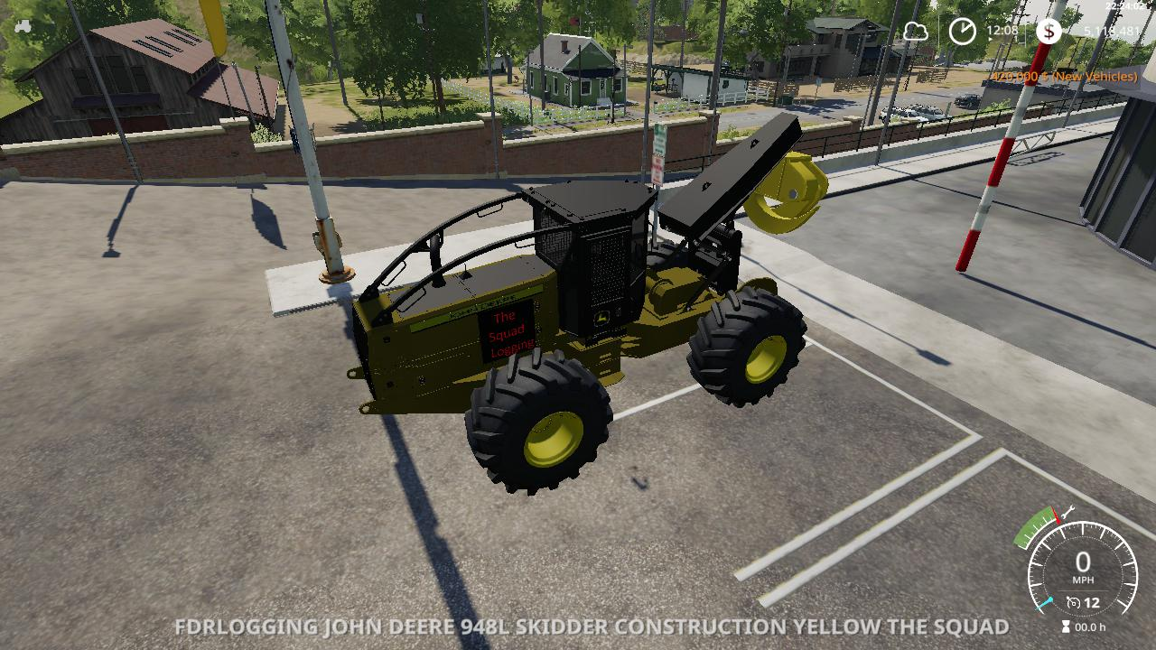 Photo of FS19 – John Deere Skidder Squad Edition V1