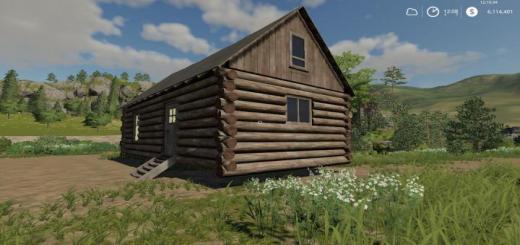 Photo of FS19 – Log Cabin V1.0