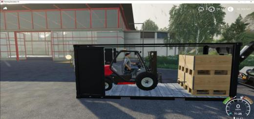 Photo of FS19 – Manitou Mc18 Container Edition V1