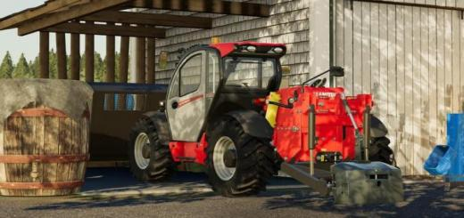 Photo of FS19 – Manitou Mlt 737 130Ps With Hinterer Hydraulik V1