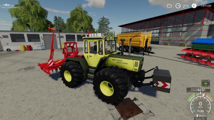 FS19 - Mb Trac 1300 - 1800 Update V1.4