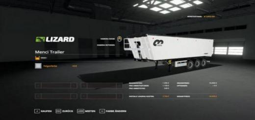 Photo of FS19 – Menci Trailer V3