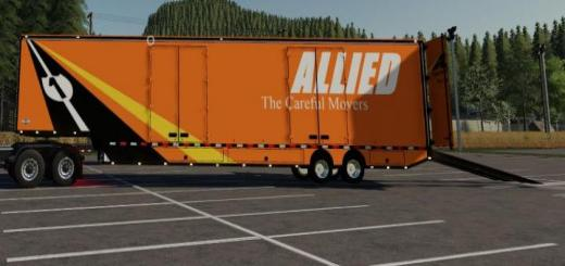 Photo of FS19 – Moving Trailer Converted V1