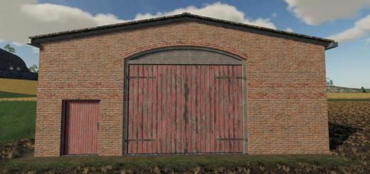 Photo of FS19 – Multi Purpose Barns With Red Doors V1