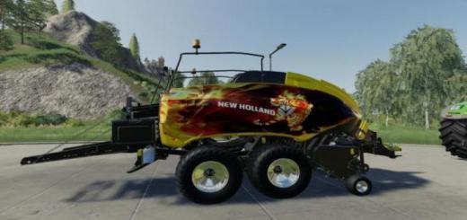 Photo of FS19 – New Holland Bb1290 Th01 V1