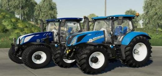 Photo of FS19 – New Holland T6 Bluepower Configurable V2
