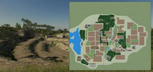 Photo of FS19 – New Woodshire Map V1